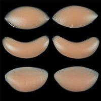 Sexy Bein Enhancer Inserts Femmes Silicone Bra Gel Invisible Inserts Plaquettes de poitrine pour robe Bikini Maillot de bain Push up Bra insert