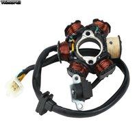 Zongshen 용 오토바이 점화 고정자 코일 190cc Z190 W190 1P62YML-2 전기 스타터 엔진 흙 피트 자전거 ATV 쿼드 부품 페달