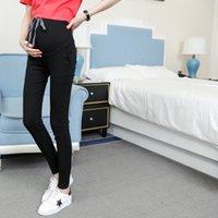 Pantalon abdominal de grossesse Casual Jeans Pantalons de maternité pour femmes enceintes Vêtements High Taille Pantalons en denim Lâche Jeans 112306 118 Z2