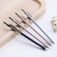 0,5 Metall Mechanische Bleistift Schreibwaren Kreative Presse Automatische Stifte für Studentenschreiben Zeichnung Büroschule Lieferstifte