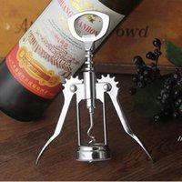 فتاحة النبيذ فتاحة زجاجة الفولاذ المقاوم للصدأ المعادن ضغط قوي الجناح المفتاح العنب فتاحة المطبخ الطعام بار الملحقات البحرية طريقة البحر DWF6176