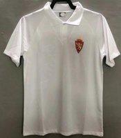 Ретро настоящий Zaragoza Soccer Jersey 1994 1995 Brehme de Jogo Rarissima Vintage CamiSeta De Futbol 94 95 классическая футболка для футбола