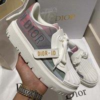 2021 Luxurys Designers sapatos designer de alta qualidade lona sapatos casuais primavera e outono moda confortável top obliques plataforma ao ar livre womens com caixa sapato008 1