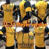 Индивидуальные 202/2021 Футбол Джерси Кедах ФА Дом подальше от игрока Edition Man + детская футболка