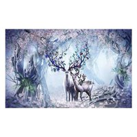 Hair Clippers Diy 5D Diamond Painting, Rhinestone Embroidery Paintings Pictures Arts Craft For Home Wall Decor-- Elk House