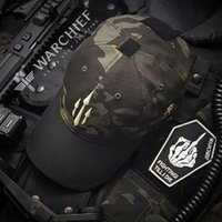 New WARCHIEF emirates leisure sea tactical baseball cap travel adjustable sunshade cap camouflage hats outdoor sports