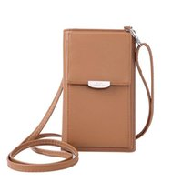 Wallets Lightweight Multi-functional Card Mini PU Crossbody Fabala Zipper Shoulder Bag