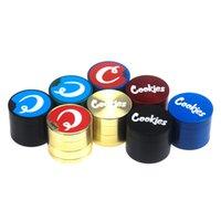 Wholesale meuleuse OEM personnalisé zicn alliage mélange moulin à herbes colorées 40mm / 50mm / 55mm / 63mm moulin à tabac bon marché pour tabagisme