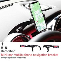 Car Mobile Phone GPS Holder Bracket Decorations for Mini Cooper One Countryman F60 R56 R55 R60 F55 F54 Accessories Car Styling