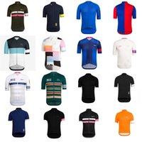 Rapha Equipo Mangas cortas para hombre Ciclismo Jersey Road Camisetas Tops de bicicletas Tops Verano transpirable deportes al aire libre Maillot S210050710