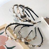 Elegant Women Pearls Headbands Hairbands Lady Girls Hair Hoop Bezel Fashion Headwear Hair Accessories Vintage