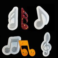 Cake Tools 1PCS DIY Musical Silicone Cookie Mold Fondant Decorating For Jewerly Wedding Cupcake Topper Tool