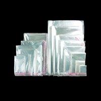 Sacs de cellophane refermables transparents, étanchéité auto-adhésif d'une alimentation en plastique OPP Traitement des sacs de violoncelle pour la boulangerie Candy Biscuits Pâtisserie Savon Savon Candle Print Emballage cadeau