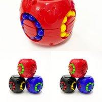 스피너 마법 퍼즐 공 Fidget 큐브 번들 스트레스 볼 콩 안티 스트레스와 불안 릴리프 압축 해제 장난감 성인용 아이들 H34ix6k