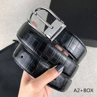 Mens Belts Fashion Belt for Man Woman Needle Buckle 12 Model Optional Highly Quality with Box