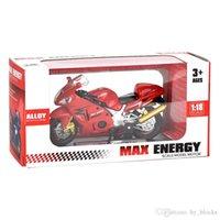 1:18 Liga de moto modelo simulação liga diecast modelo brinquedos presente carro fora da estrada coleção de moto crianças menino presente