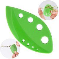 Grönsaker Leaf Separator Rosemary Thyme Kålblad Stripper Plast Greens Herb Stripper Looseleaf Rosemary Kitchen Gadgets