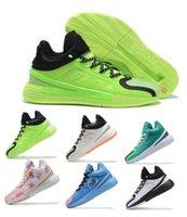 2021 D Rose 11 Sacs à main Chaussures respirantes Derrick Xi Lightstrike Career High Boardwalk Hommes Basketball Chaussures Sneakers