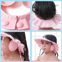 Bonnets Baby Douche Casquette Réglable Cheveux Chapeau de lavage pour Né Bufant Protection Safe Enfants Enfants Shampooing Shield Tête de bain de bain