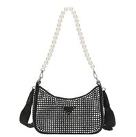 Ultimi Diamond Donne Borsa a tracolla 21SS Estate 4Color Suddars Borse Moda Lady Designer Lussurys Brand Borse Bling Nylon Handbag lucido di alta qualità