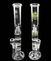 Bong Birdcage Perc High 12.5inch Pipe fumant 3 Couche Filtre Couche Nidification Percolat Percolator Bongs Verre Tuyau d'eau 18.8mm Joint Yltshopsell