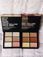 Müşteri ve Doğru Palette 6 Shades Işık Orta Fix Yüz Kapatıcı Krem Paletleri Cilt Tonu Düzeltici Yüz Karanlık Nokta Kapsayan Kusursuz Bazlı Cadılar Bayramı Makyaj