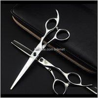 Saç Profesyonel 6 inç Kuaförlük Kesme Salonu Makas Kuaför Dükkanı Malzemeleri İnceltme Makas Kuaför PNBCC IN6ZF