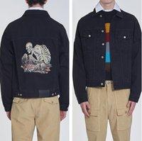 Мужчины и женские Куртки Пальто Камень Череп Печать Пальмовые Пальмы Высокое Качество Паанльз Куртка с капюшоном Печатная Мода Palm Повседневная Верхняя одежда Человек Одежда