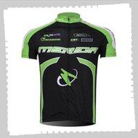 Ciclismo Jersey Pro Team Merida Mens Estate Quick Sport Dry Sports Uniforme Mountain Bike Shirts Road Bicycle Tops Abbigliamento da corsa Abbigliamento sportivo all'aperto Y21041212