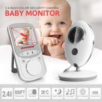 Wireless LCD Audio Video Baby Monitor VB605 Radio Nanny Music Intercom IR 24h Portable SECURITY Camera Walkie Talkie Babysitter 2.4 INCH COLOR Two-Way Talk Back