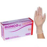100pcs box Powder Free Disposable Transparent PVC Gloves Kitchen Hospital Work Home Protection Safety Vinyl Glove