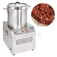 Meat Grinders 15L Multifunctional Stainless Steel Fruit And Vegetable Mixer Commercial Desktop Food Chopper Kitchen Equipment 1800W 220V 110