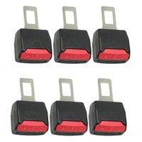 6x ajustável cinto de carro de carro clipe extender segurança segurança cadeado fivela plugue espessura inserção de inserção cintos acessórios acessórios