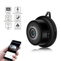 HD Wifi Mini Camera Secret Smart Auto IR-Cut Video Motion Sensor Secret Video cam Night Vision Motion Detection P2P Camera V380