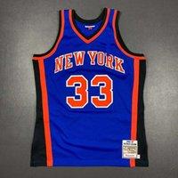 100% vernäht Patrick Ewing Mitchell Ness 96 97 Jersey Männer XS-5XL 6XL Hemd Basketball Trikots Retro NCAA