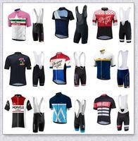 Kit de vélo de vélo à manches courtes en jersey Morvelo Team Jersey à manches courtes avec un gel 3D Short rembourré rapide VTT VTT Vêtements Vêtements Vêtements Vêtements de sport Y210406