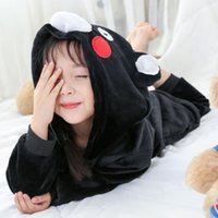 Pajamas Toddler Christmas Hooded Kids Pjs Flannel Baby Romper Winter Pajama Sets For