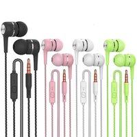 TWS S12 Sport Ohrhörer Großhandel Kabel verdrahtet Super 3,5mm Riss Bunte Headset Earmud mit Mikrofon Händefrei Für Samsung Android