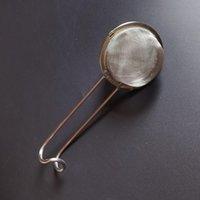 Tea ball egg-shaped 6.5cm strainer stainless steel sphere locking spice mesh tea infuser filter