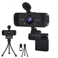 HD Webcam Built-in Dual Mics Smart 4K Web Camera USB Port Stream for Desktop Laptops PC Game Cam support OS Windows IOS AND Android TV Rotatable