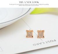 18 kgp Halskette Ohrringe Ringe Sets Mode Vollrhinestone Kristall Braut Jewlery Sets Frauen Fine Schmuck Cal1097B UNVQA 385 Q2