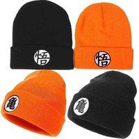 Anime Son Goku Kakarotto Cosplay Costume Winter Warm Beanie Embroidery Hat Knitted Cap Unisex