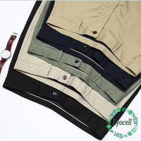 Homme d'été Lyocell Bamboo Fibre mince Pantalon Casual Business Heart Robe Costume Trousers Mâle Kaki Gris Classic Oversize 40 42