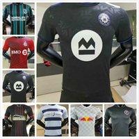 21 22 La Galaxy Soccer Jersey Player الإصدار 2021 2022 Atlanta United Sporting Kansas City Inter Miami Toronto Football Shirts Beckham