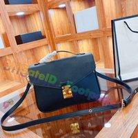 Frauen hochgradig Messenger Bags Umhängetasche 2021 Mode Leder Crossbody Handtaschen Klassische Vintage Luxurys Designer Totes Damen Münze Kupplung Geldbörse Klappe Brieftasche