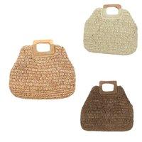 الحقائب المجوهرات، حقائب أنيقة أنثى مربع حمل حقيبة 2021 الصيف القش المرأة مصمم حقيبة يد سعة كبيرة المنسوجة السفر المتسوق