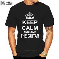 Boys Tee Keep Calm Love Guitar Electric Bass Classical Acoustic Flamenco T-shirtchildren's Clothing