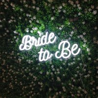 Other Event & Party Supplies Bride To Be Neon Sign Led Light Custom Name Letters Wedding Decoration Lamp Banner For Home Room On Wall Mural
