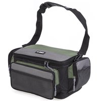 Fishing Accessories LEO Multifunctional Large Capacity Oxford Cloth Bag For Lures Gear Utility Storage Tackle Sling Bags