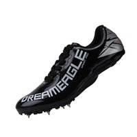 Boots Track And Field Spike Shoes Men Women Teenagers Training Professional Running Race Jumping Sneakers GUTC